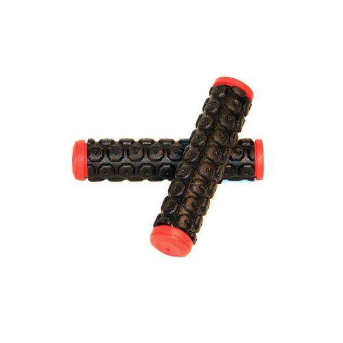 Грипсы HW черно-красные 125 мм