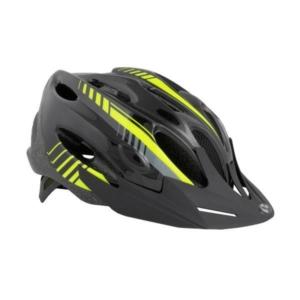 Велосипедный шлем HQBC Prilba VENTIQO, черно-желтый, размер M