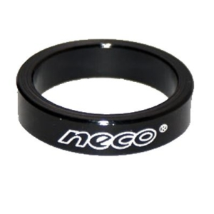 Проставочное кольцо для рулевой колонки велосипеда NECO 5 мм черное