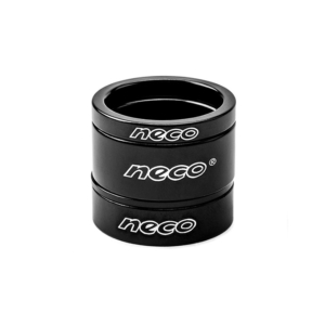 Проставочное кольцо для рулевой колонки велосипеда NECO 15 мм черное
