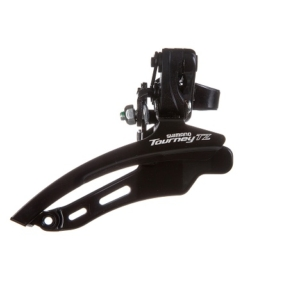 Переключатель передний для велосипеда Shimano TZ510, нижняя тяга, 48T