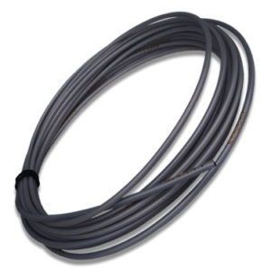 Оплётка велосипедного троса переключения скоростей BARADINE черная, 1 метр (погонный)