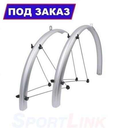 """Комплект щитков для велосипеда SIHD 26"""" 60 мм серебристый"""