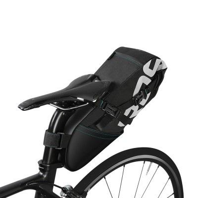 Сумка по седло велосипеда Roswheel 8L, водонепроницаемая, черная
