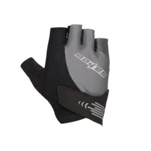 Перчатки велосипедные Sahoo серо-черные, размер XXL