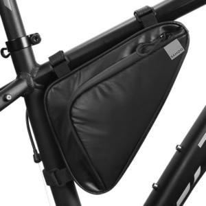 Сумка под раму велосипеда Sahoo Travel, черная