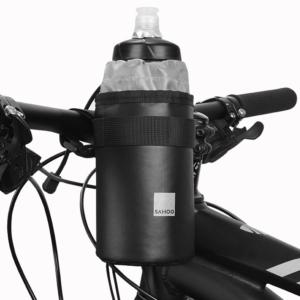 Сумка-держатель для фляги на руль велосипеда Sahoo, синяя