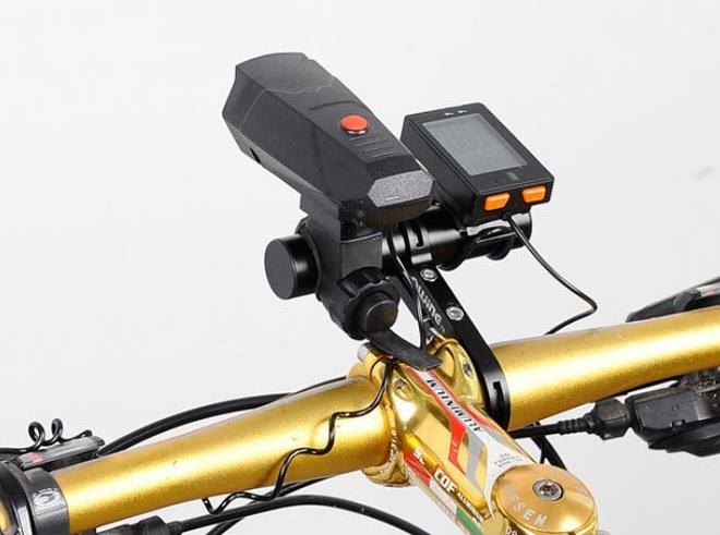 Держатель для аксессуаров на руль велосипеда