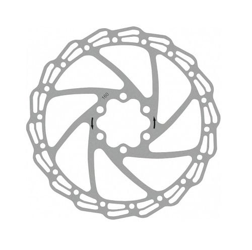 Тормозной диск для велосипеда D160mm Alhonga
